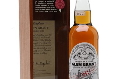 Glen Grant 1952 / 52 Year Old / Gordon & Macphail Speyside Whisky
