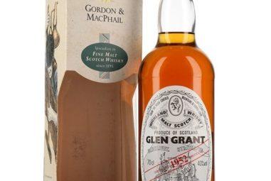 Glen Grant 1952 / Bot.1990s / Gordon & MacPhail Speyside Whisky