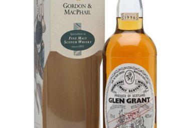 Glen Grant 1952 / Bot.1996 / Gordon & MacPhail Speyside Whisky