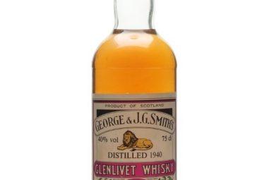 Glenlivet 1940 / Bot.1980s / Gordon & Macphail Speyside Whisky